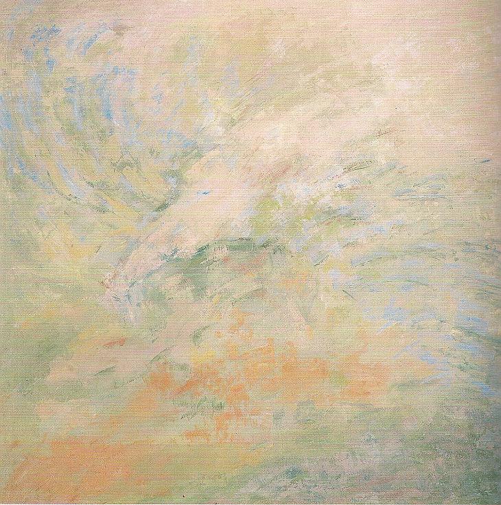 Flores y animales. NATURALEZA TENUE. Óleo sobre lienzo. 100 x 100