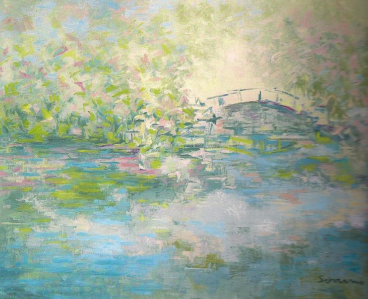 Rios y mares. AL OTRO LADO. Óleos sobre lienzo. 65 x 81
