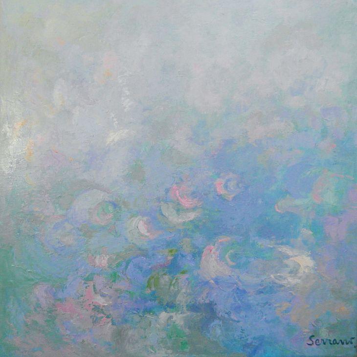 Condensaciones Oleo sobre lienzo 80 x 80