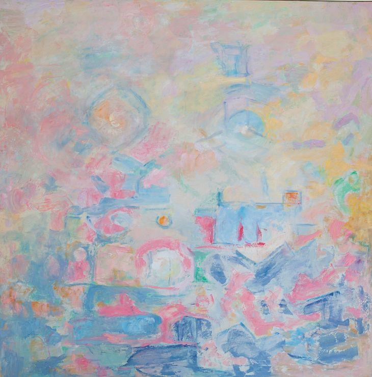 Recuerdos Oleo sobre lienzo 100 x 100