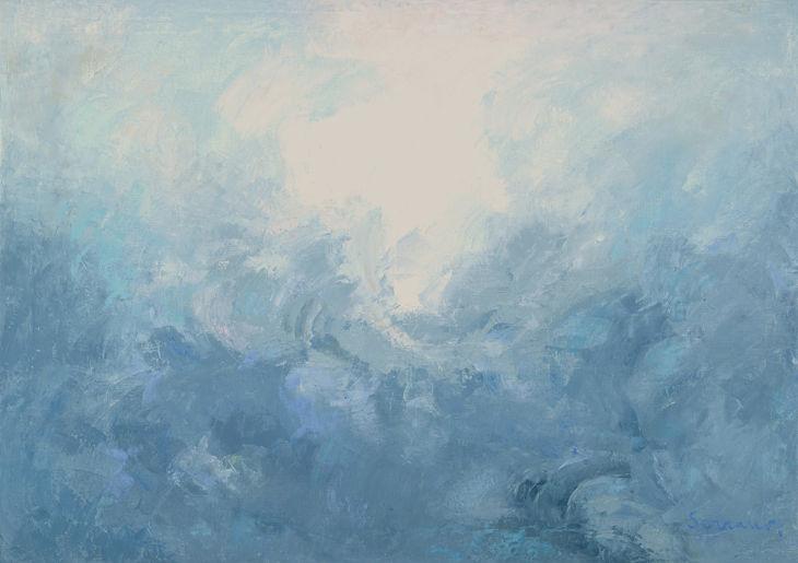 Sublimación Oleo sobre lienzo 81 x 100