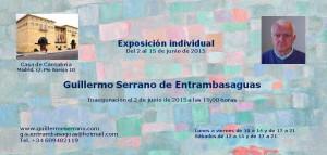Exposición de Guillermo Serrano en 2011