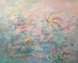 Pintura abstracta. VIBRACIONES Óleo sobre lienzo 81 x 100