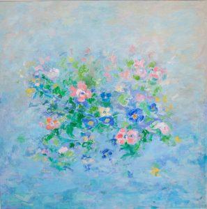 EN LA PRIMAVERA Oleo sobre lienzo 100 x 100