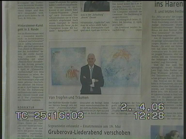 Exposición en Dortmund 2006.-Dortmund prensa local