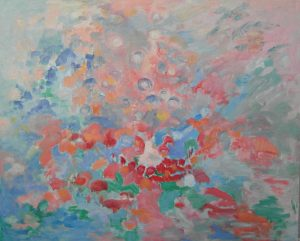 METAMORFOSIS II Oleo sobre lienzo 81 x 100