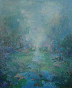 RESPLANDOR Oleo sobre lienzo 65 x 54