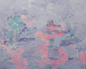 VISION DE ETERNIDAD Acrílico sobre lienzo 81 x 100